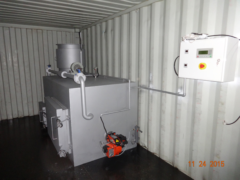 Containerized Incinerators