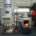 small oil fired incinerator